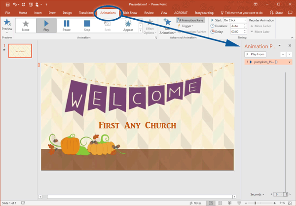 Add Text To Videos In Powerpoint Sample
