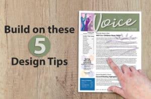 5 Design Ideas For Better Church Newsletters