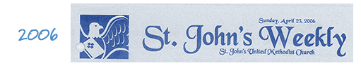 Church Newsletter Nameplate Example 01