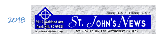 Church Newsletter Nameplate Example 03