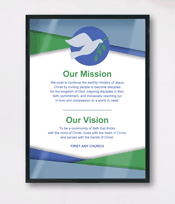 Display-your-church-mission-statement-black-frame-free-sample October Newsletter Templates For Publisher on free downloadable preschool, lds relief society, printable downloadable, employee free word,