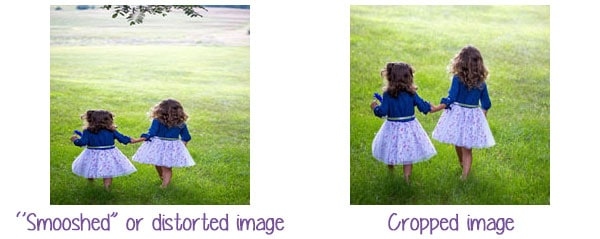 How To Avoid Distorted Images