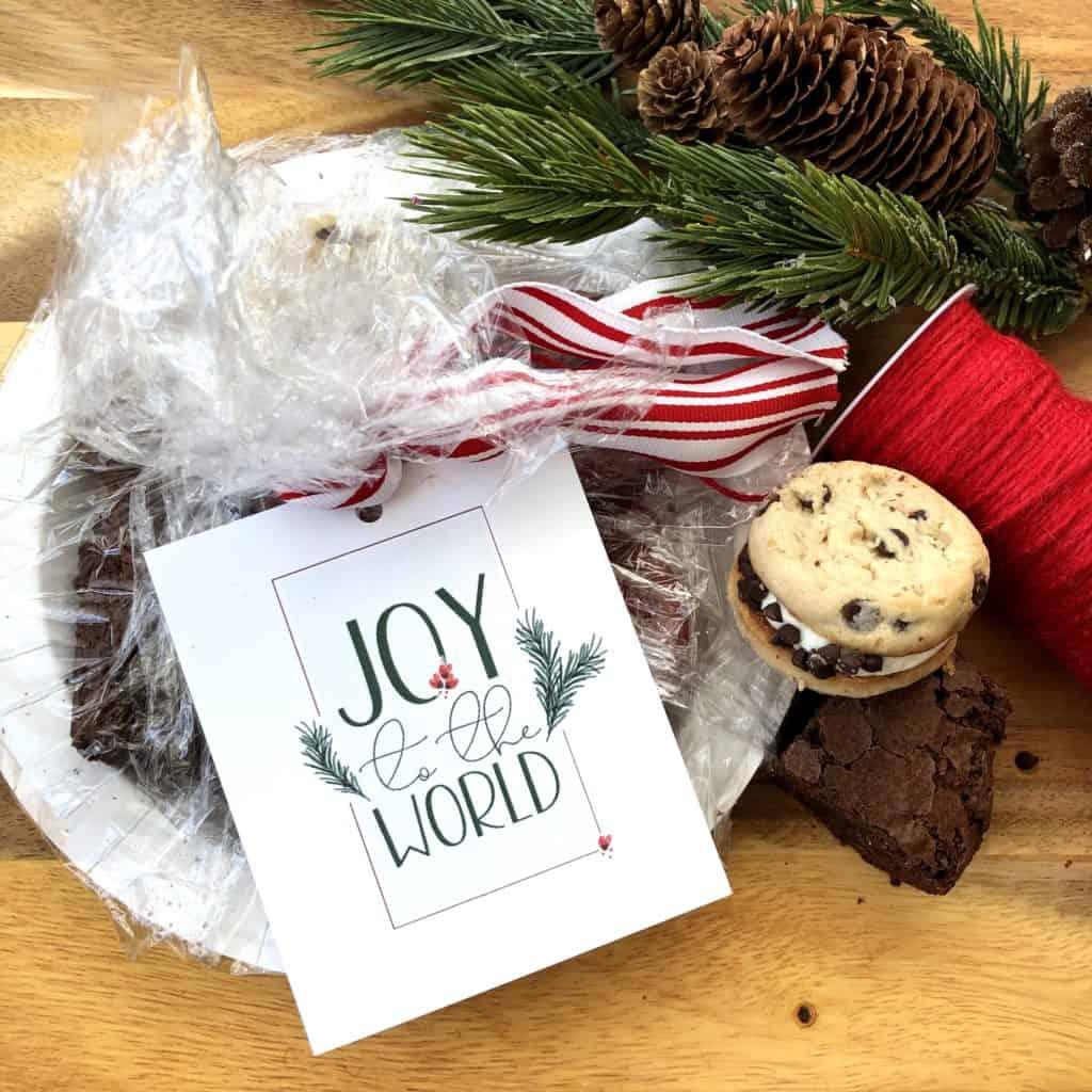 Joy To The World Christmas Tag