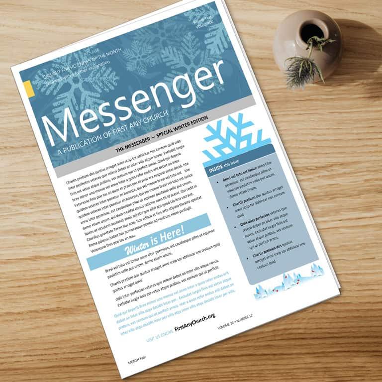 Newsletter Template Design Help