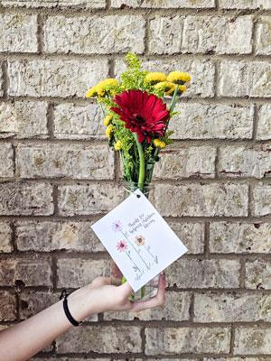 Teacher Appreciation Cards Bloom Flowers