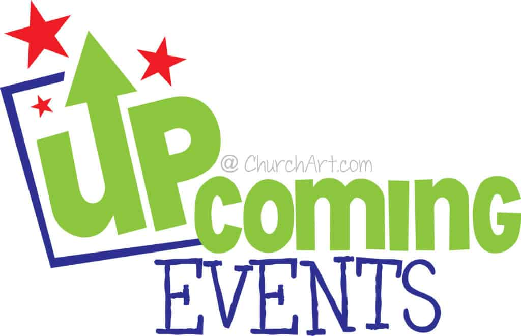Upcoming Events Clipart