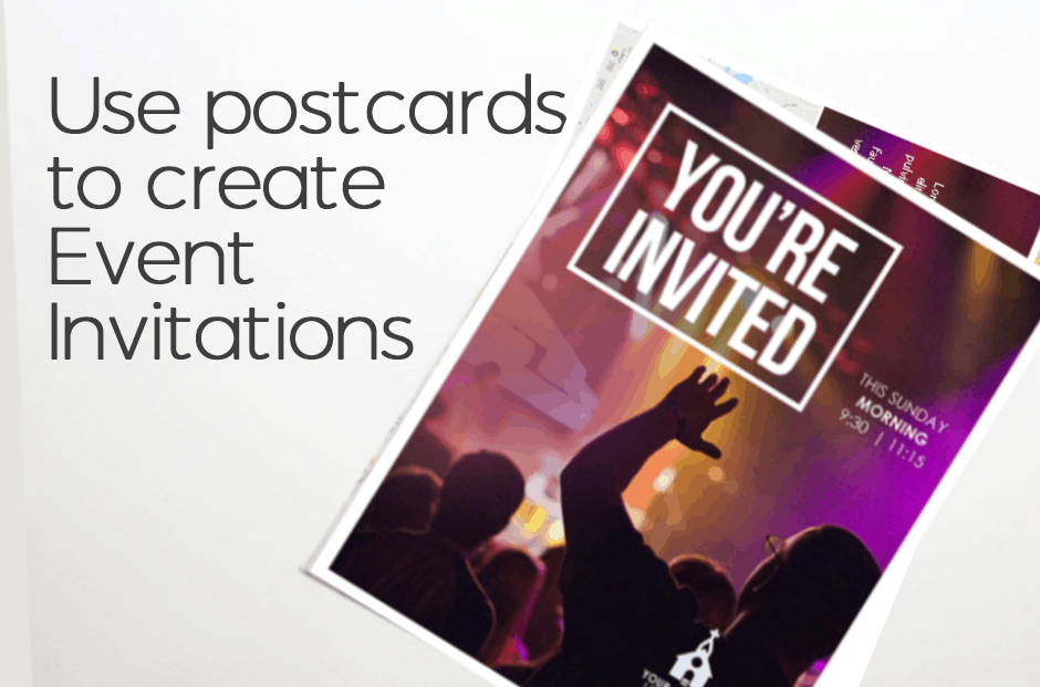 Church Invite Postcards