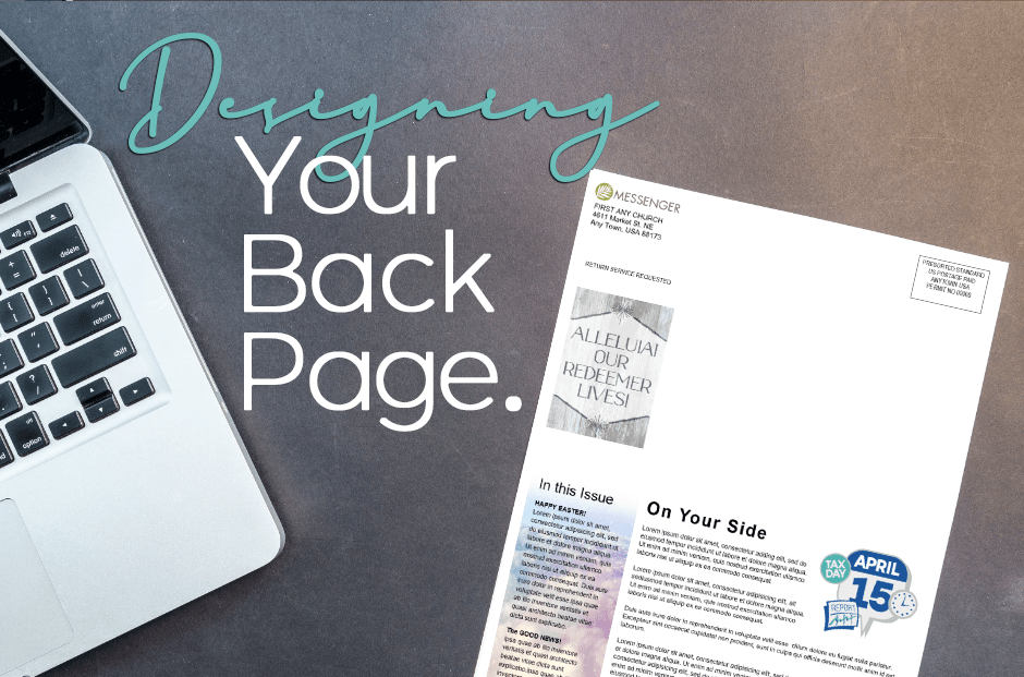 Designing Your Back Page Of Your Church Newsletter