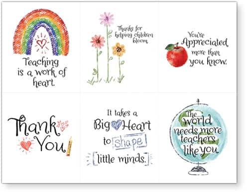 Teacher Cards 22418